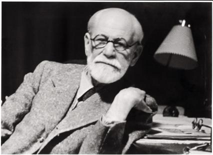 In this photo released by the Sigmund Freud Museum in Vienna former Austrian psychoanalyst...