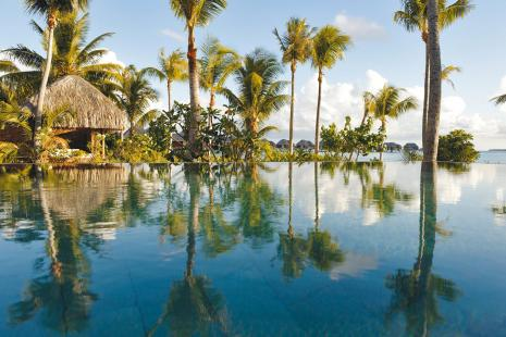 Four Seasons Resort. Bora Bora. Society Islands. French Polynesia.//...